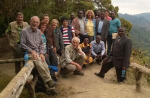 Visitor Group 2015 in Tukuyu
