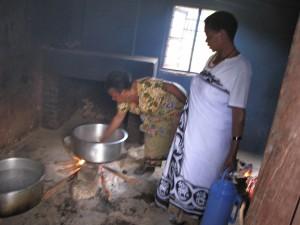 Kochhaus ohne richtigen Rauchabzug